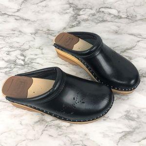 Troentorp Womens Leather O'Keefe Clog 41